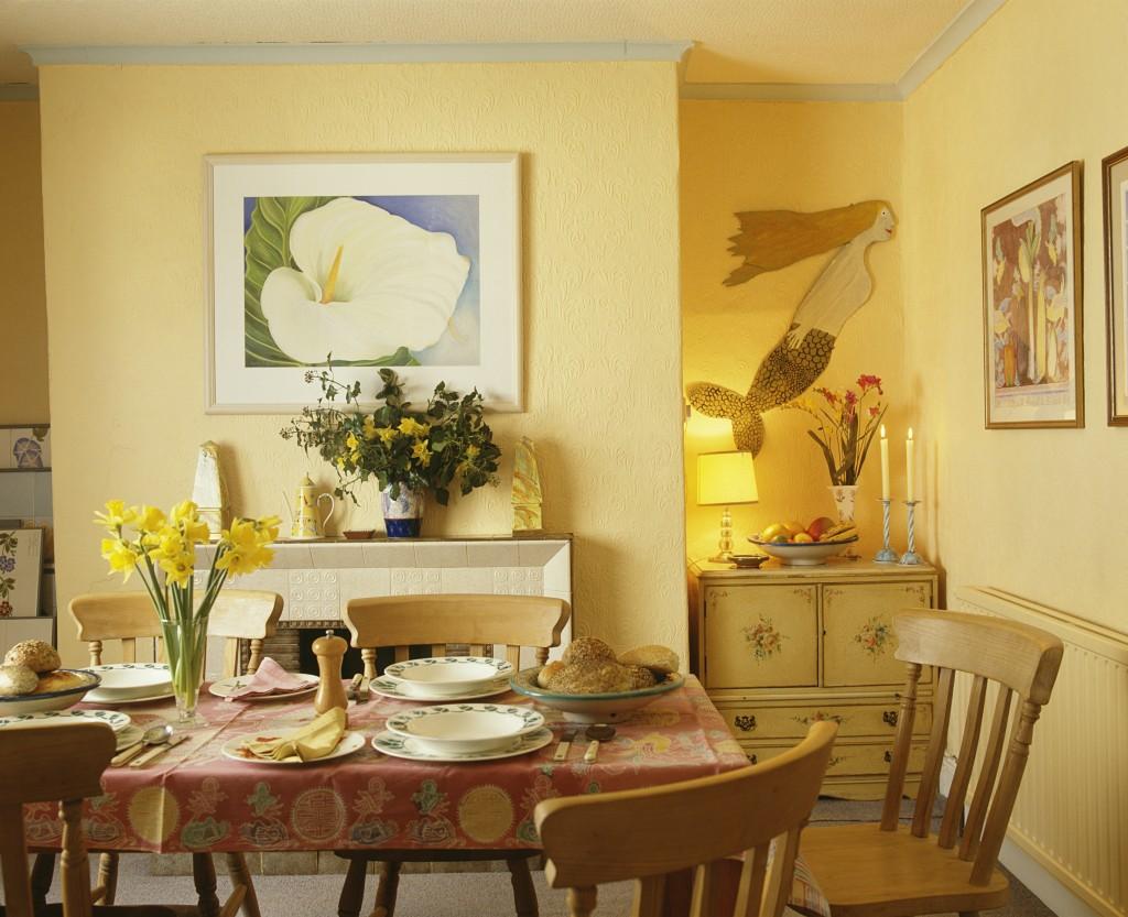 Cómo elegir el mejor cuadro para tu comedor - Revista Lamudi