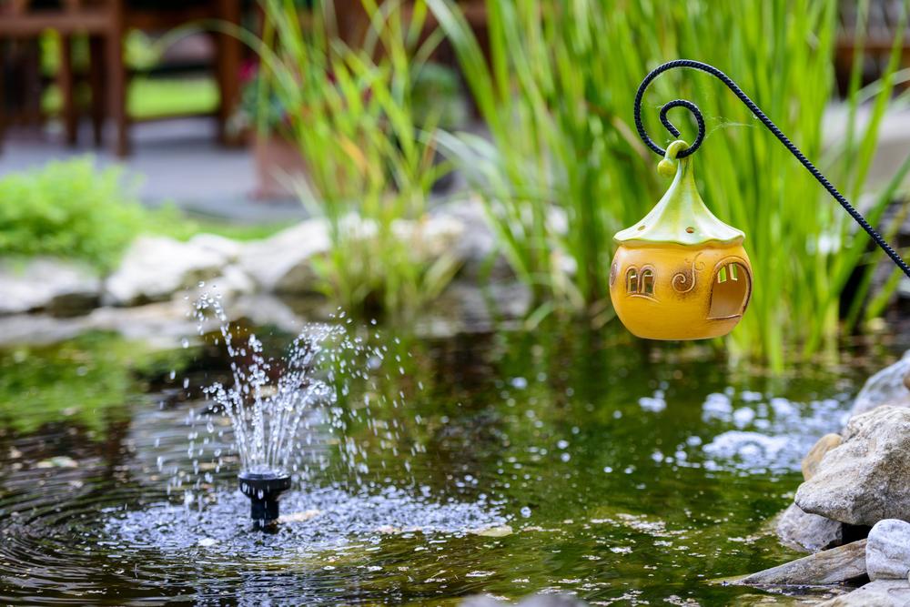 5 consejos para tener un estanque en tu jard n revista for Estanque jardin pequeno