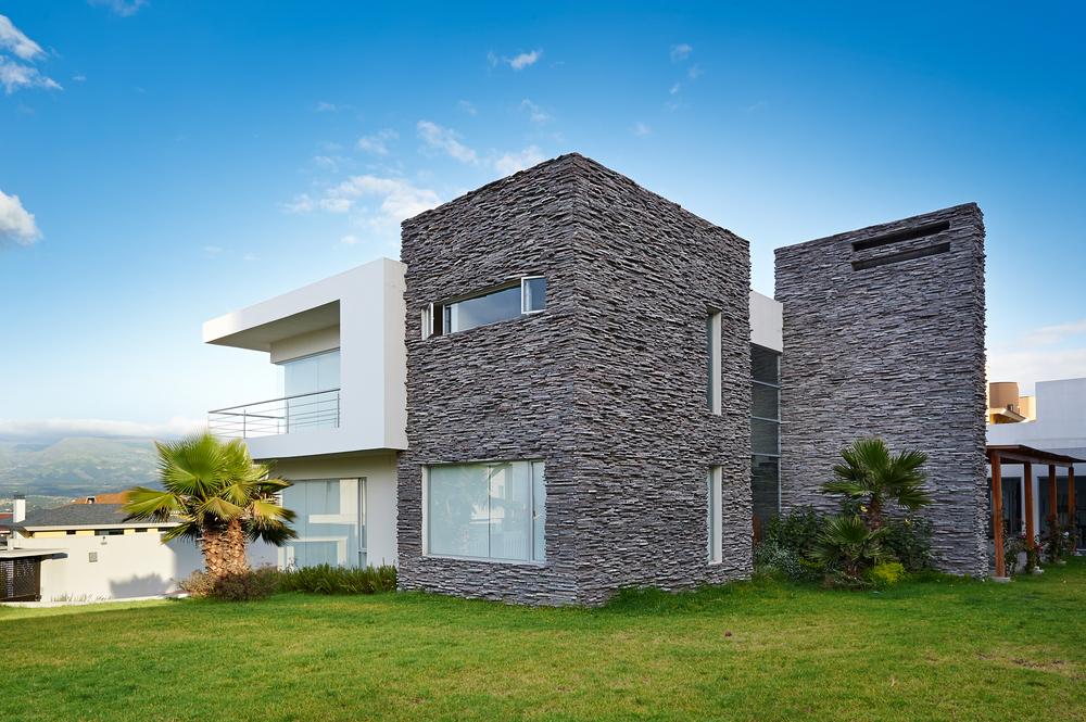 Estilos de fachadas for Estilos de viviendas