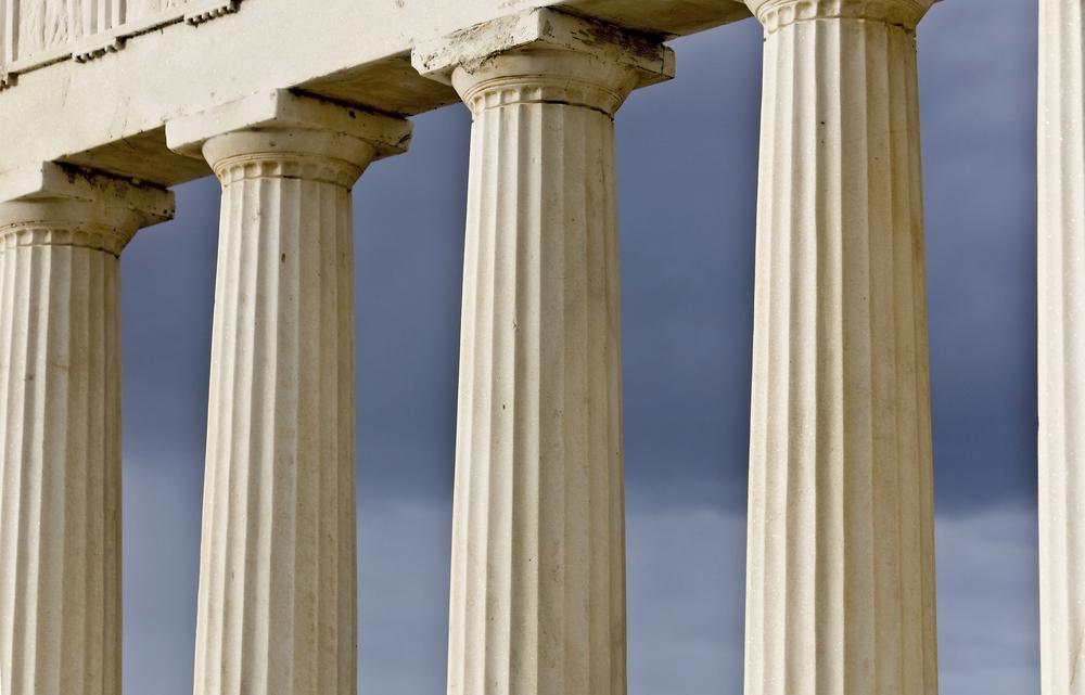 La arquitectura de la grecia cl sica revista lamudi for Pilares y columnas