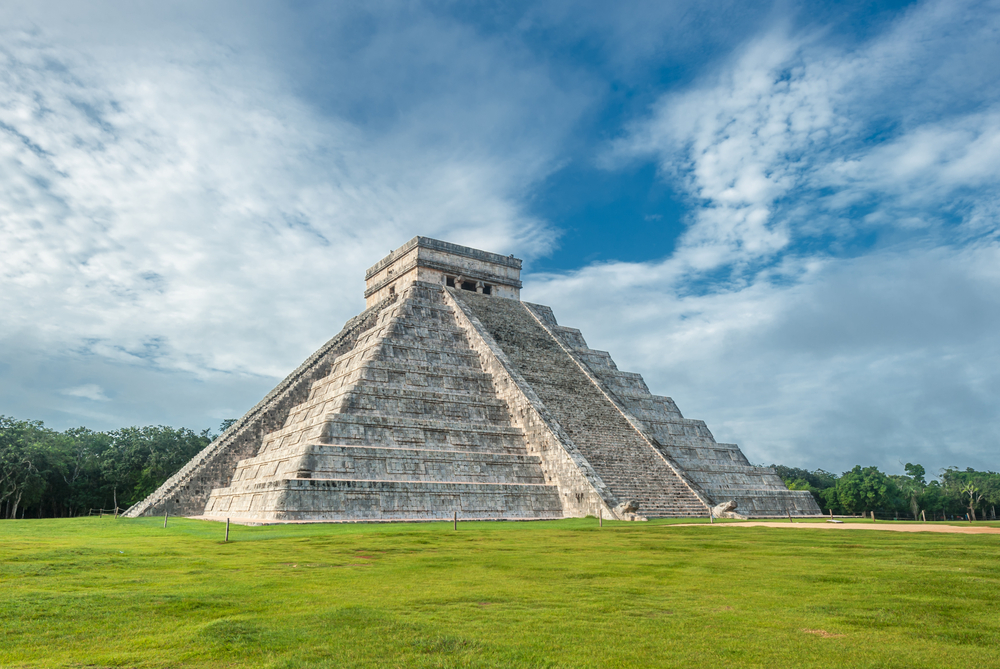 Templo De Quetzalcoatl Dibujo