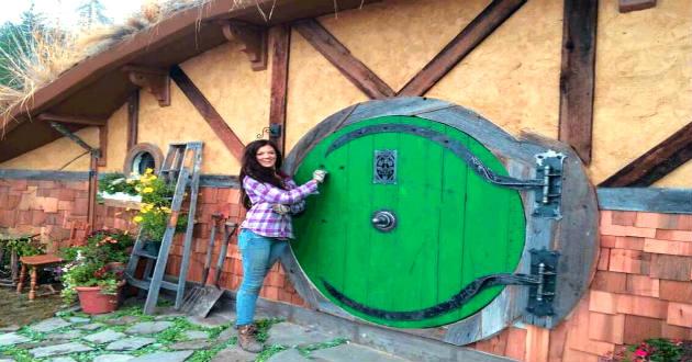 Eres fan del se or de los anillos descubre esta - La casa de los hobbits ...