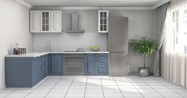 Decoraci n de cocinas modernas revista lamudi - Pintar muebles cocina melamina ...