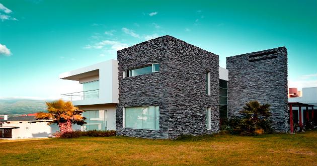 Fachadas de casas modernas revista lamudi - Piedras para fachadas de casas modernas ...