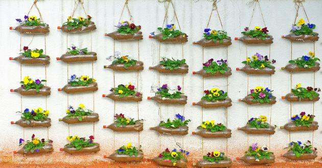 Tipos de jardines verticales revista lamudi for Como se hace un jardin vertical