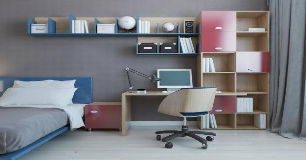 5 ideas para la decoraci n de rec maras peque as revista for Repisas espacios pequenos