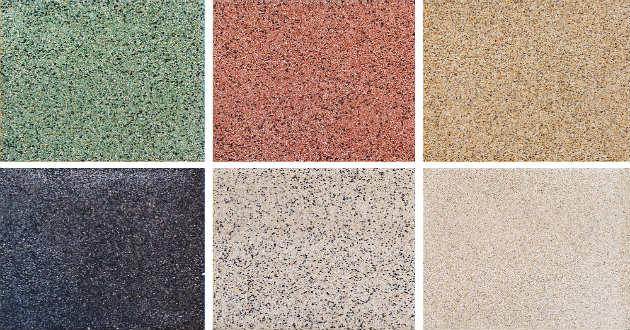 Qu tipos de pisos puedes utilizar en tu casa revista for Tipos de granito para pisos