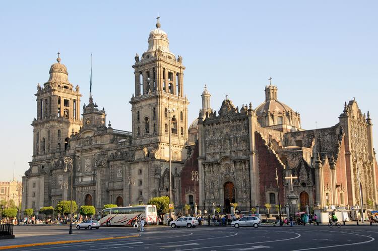catedral barroca ciudad de mexico