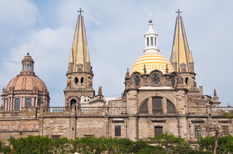 catedral barroca en guadalajara