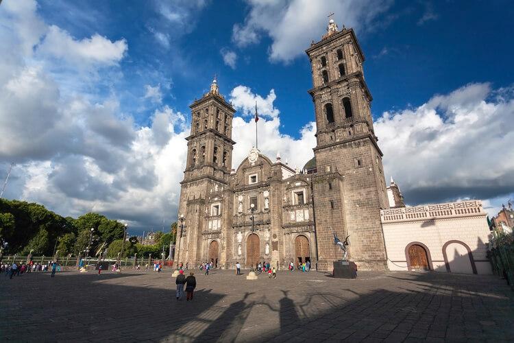 catedral barroca en puebla