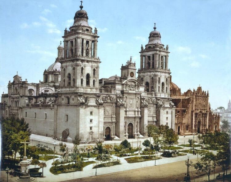 catedral barroca mexico