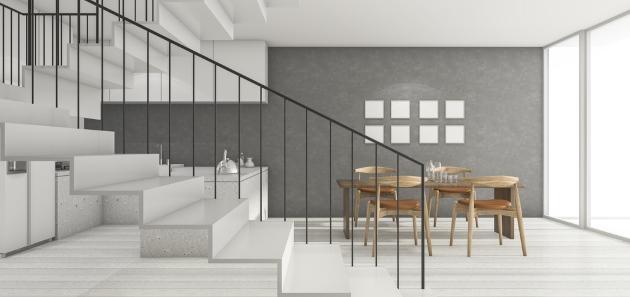 Tipos de escaleras para el hogar revista lamudi for Formas de escaleras de concreto