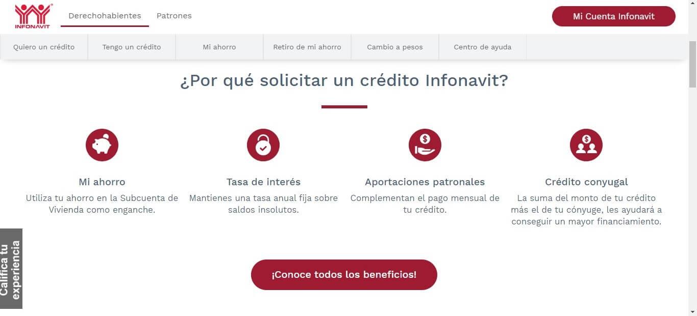 El portal Infonavit está lleno de información al público