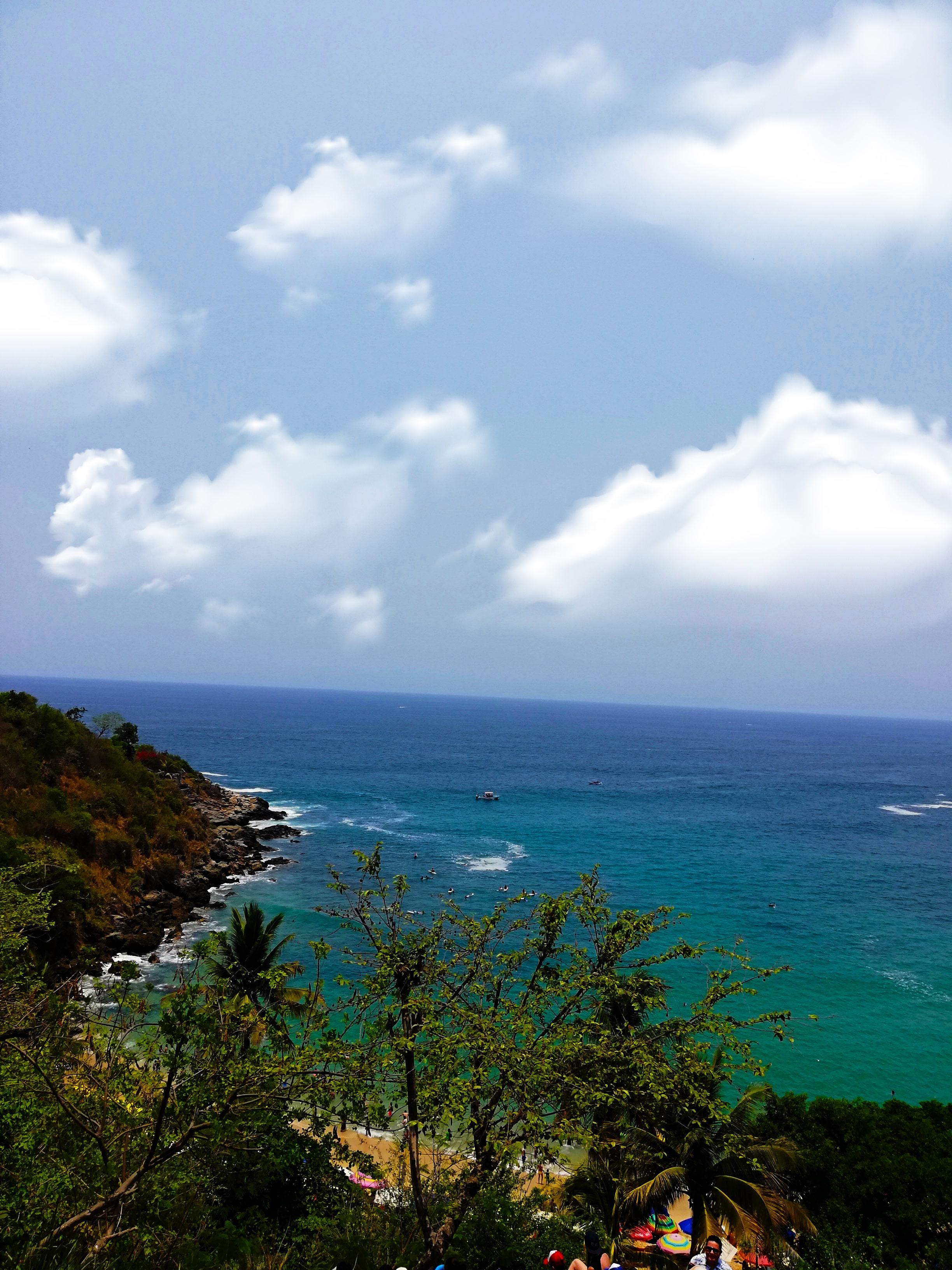 Vista bahía Huatulco
